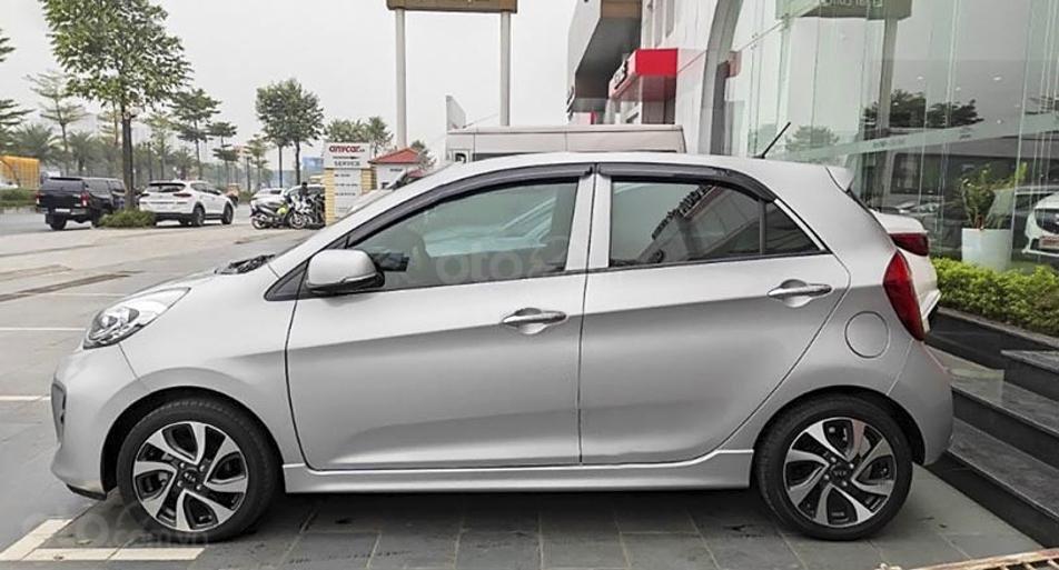 Bán xe Kia Morning sản xuất năm 2018, màu bạc, giá ưu đãi (1)