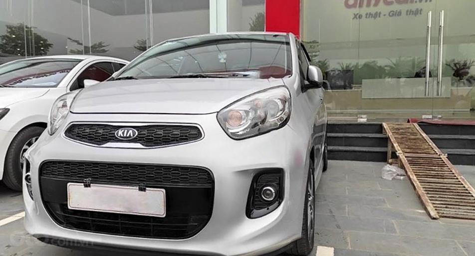 Bán xe Kia Morning sản xuất năm 2018, màu bạc, giá ưu đãi (4)