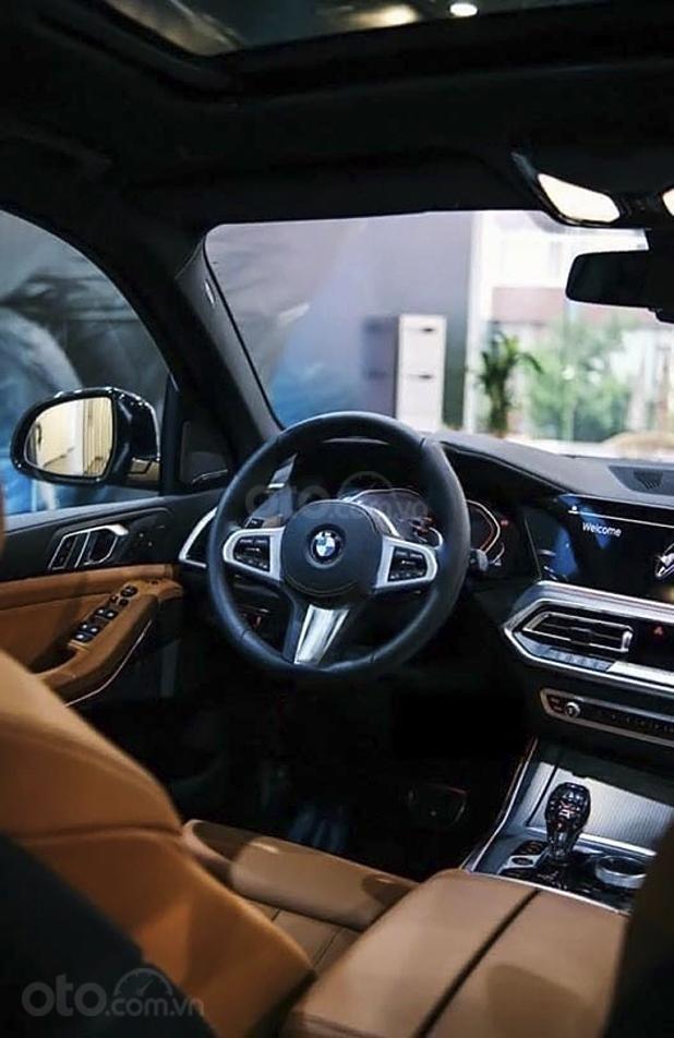 Bán xe BMW X5 xDrive40i M Sport sản xuất năm 2020, màu xanh lam, xe nhập (5)