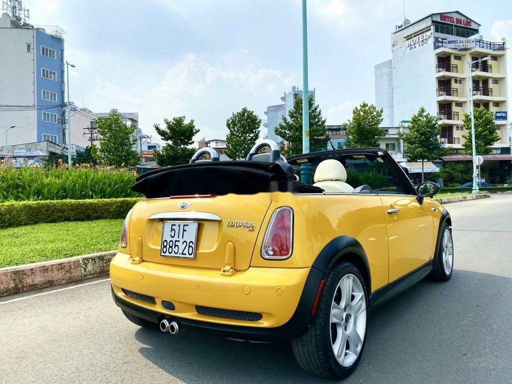 Bán Mini Cooper sản xuất 2005, màu vàng, nhập khẩu, 590tr (7)
