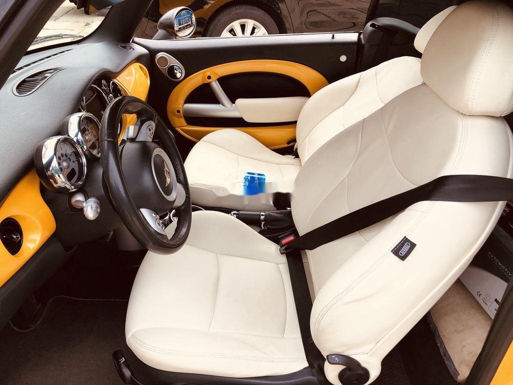 Bán Mini Cooper sản xuất 2005, màu vàng, nhập khẩu, 590tr (4)
