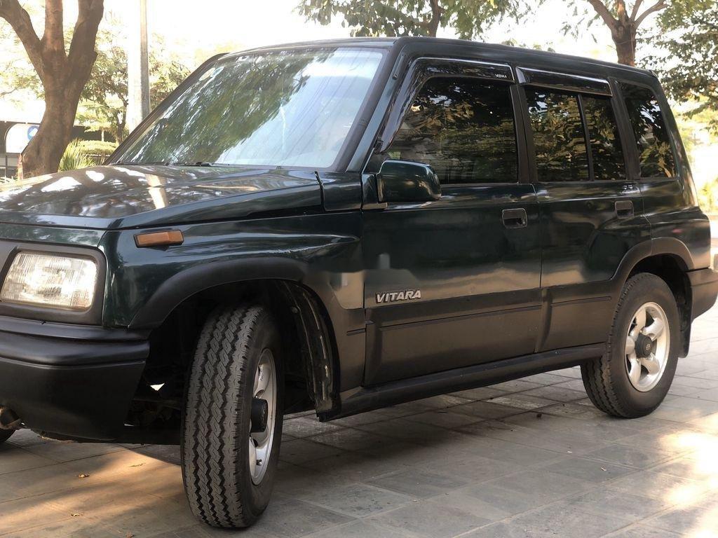 Cần bán lại xe Suzuki Vitara 2005, màu đen, nhập khẩu  (2)