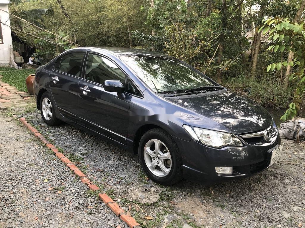 Xe Honda Civic sản xuất 2008, màu đen, nhập khẩu  (6)