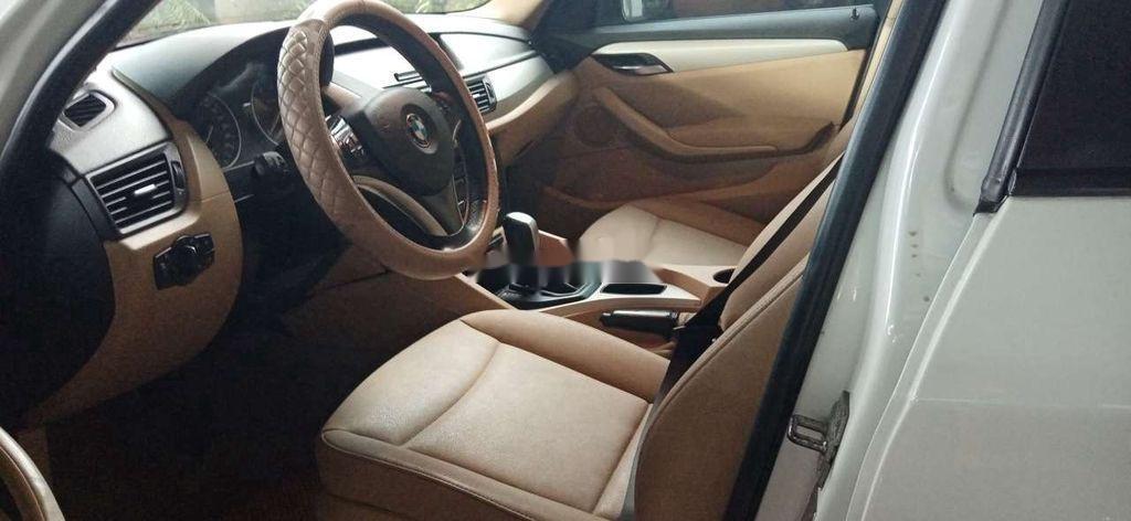 Bán ô tô BMW X1 sản xuất năm 2010, màu trắng (5)