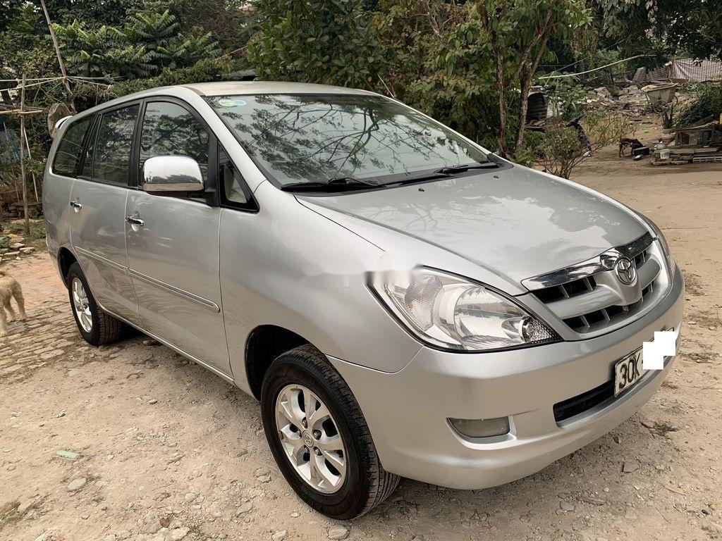 Bán ô tô Toyota Innova năm sản xuất 2008, màu bạc  (2)