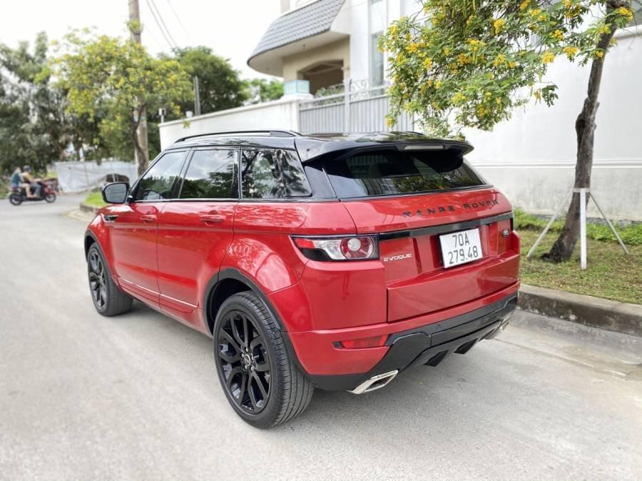 Cần bán xe LandRover Range Rover 2011, màu đỏ, nhập khẩu  (3)