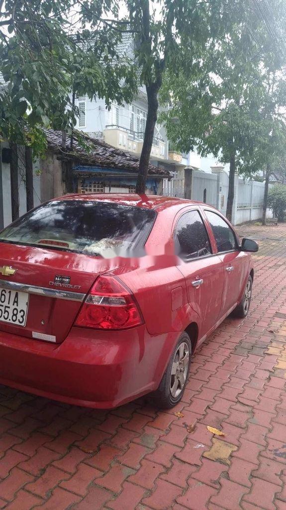 Cần bán gấp Chevrolet Aveo đời 2012, màu đỏ, nhập khẩu  (3)