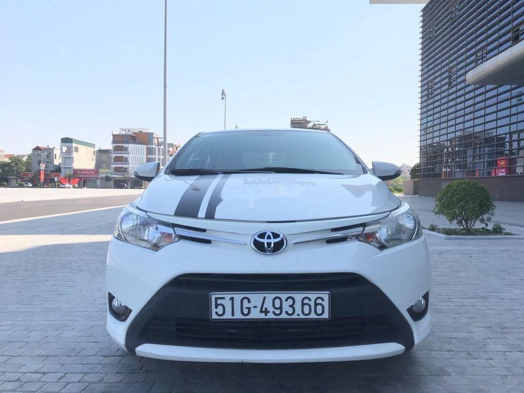 Bán xe Toyota Vios năm 2017 còn mới, giá 388tr (1)