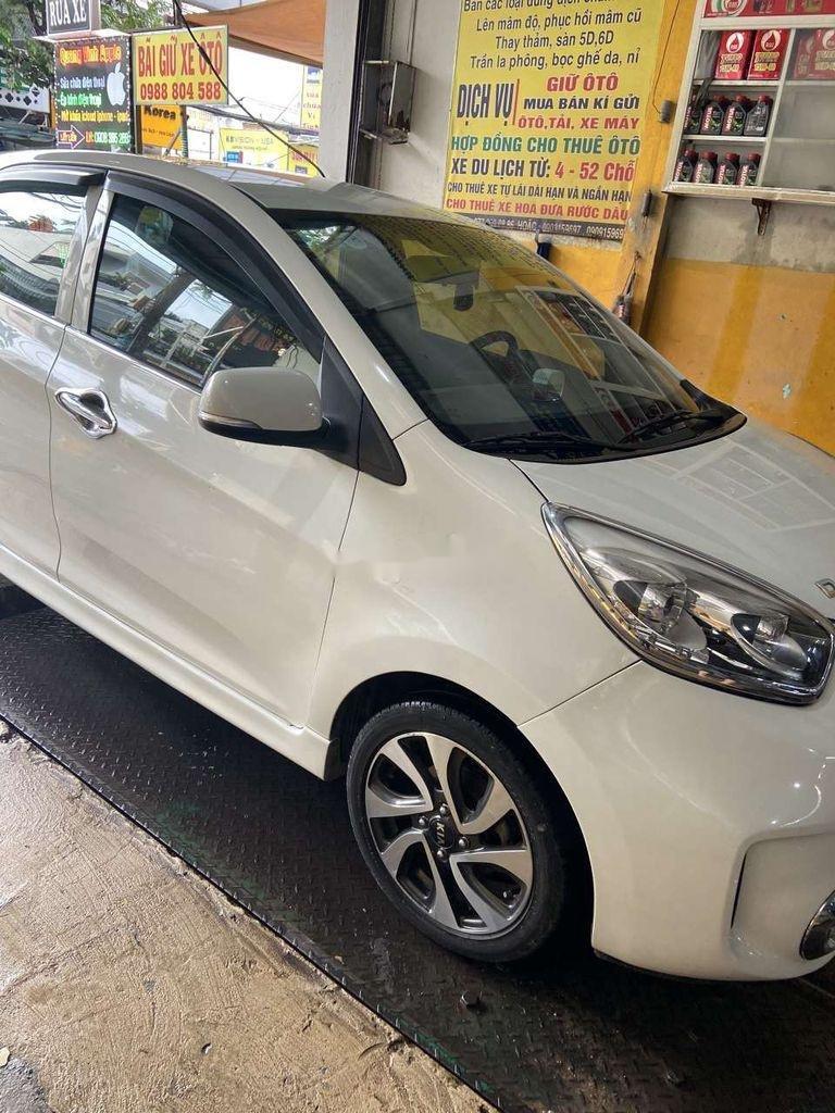 Cần bán lại xe Kia Morning 2017, màu trắng  (4)
