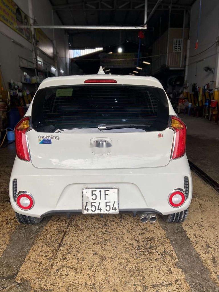 Cần bán lại xe Kia Morning 2017, màu trắng  (8)