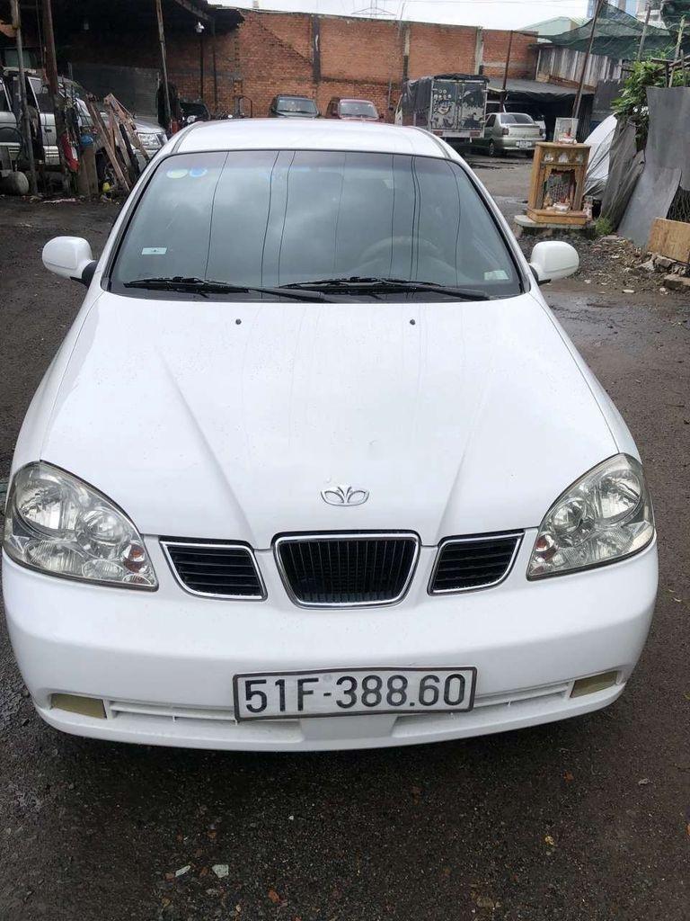 Bán xe Daewoo Lacetti đời 2004, màu trắng (3)