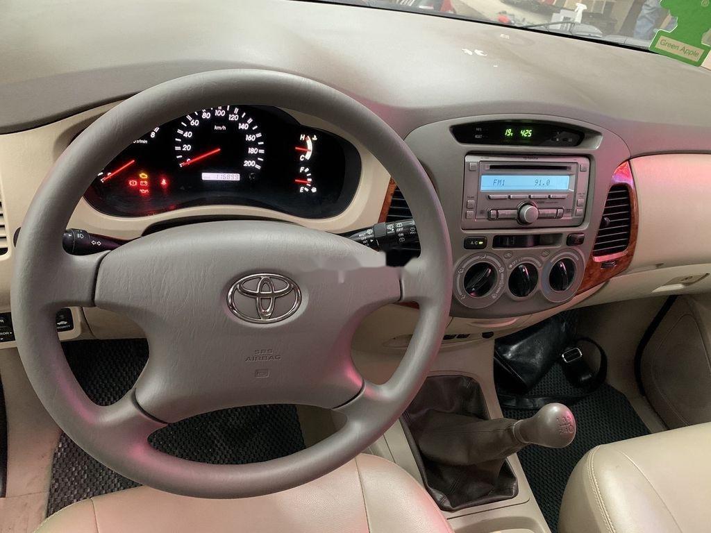 Bán ô tô Toyota Innova năm sản xuất 2008, màu bạc  (6)