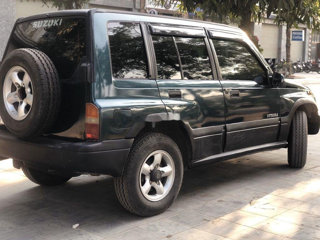 Cần bán lại xe Suzuki Vitara 2005, màu đen, nhập khẩu  (4)