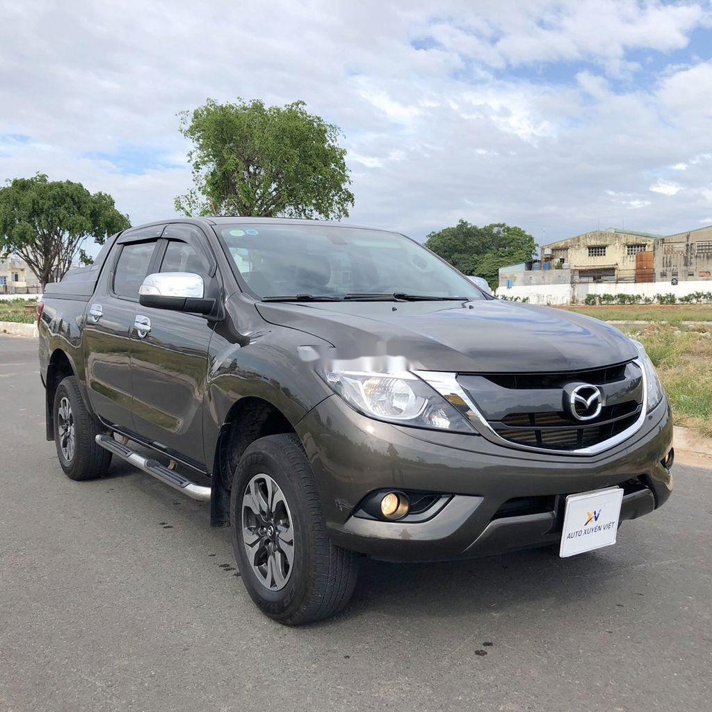 Bán xe Mazda BT 50 sản xuất năm 2018, màu nâu, xe nhập, 555tr (2)