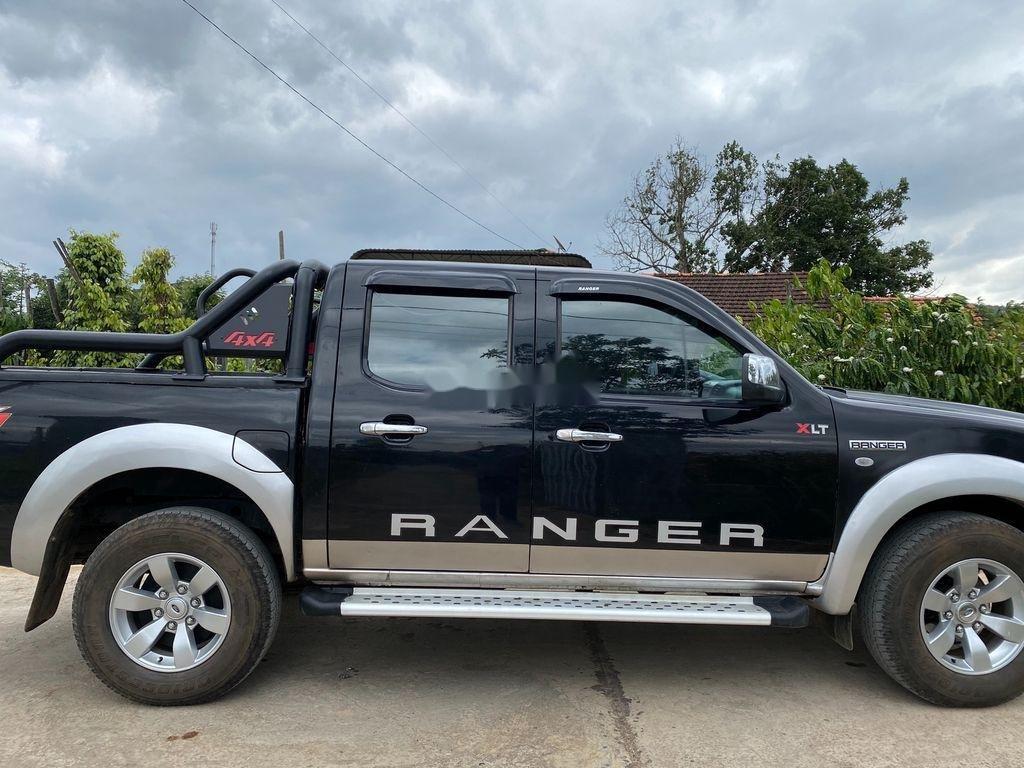 Cần bán gấp Ford Ranger năm 2008, màu đen  (6)
