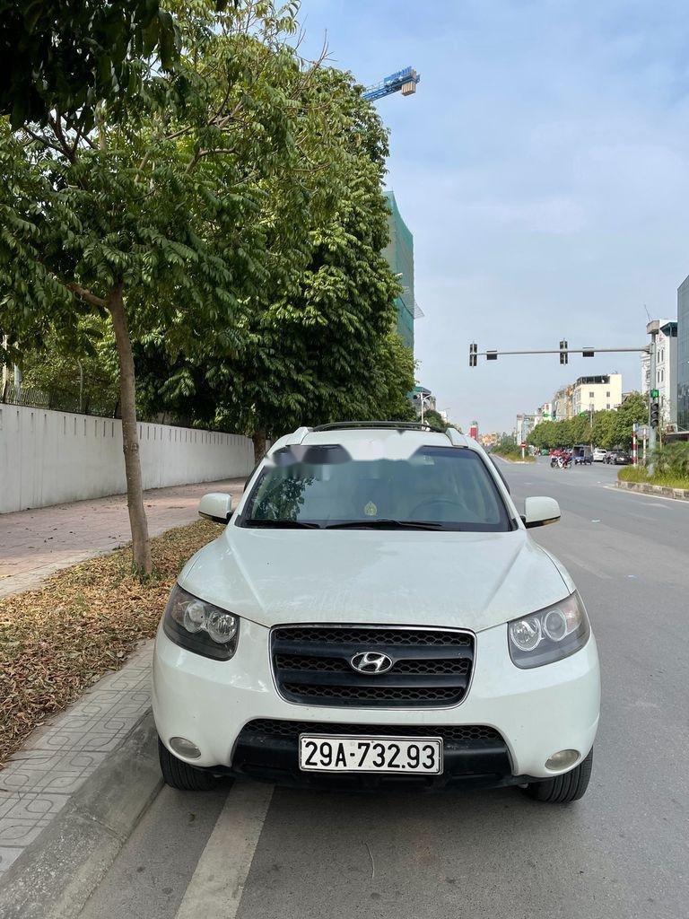 Bán ô tô Hyundai Santa Fe năm sản xuất 2008, xe nhập còn mới (1)