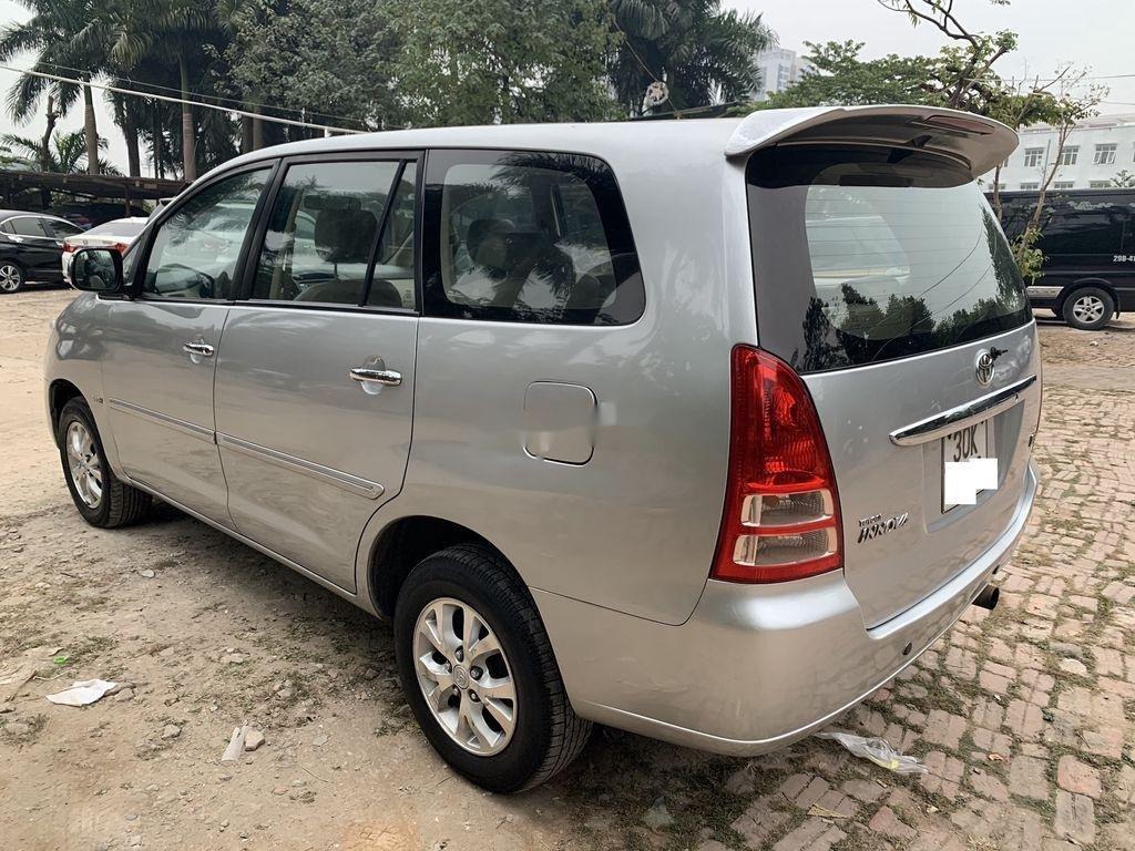 Bán ô tô Toyota Innova năm sản xuất 2008, màu bạc  (4)