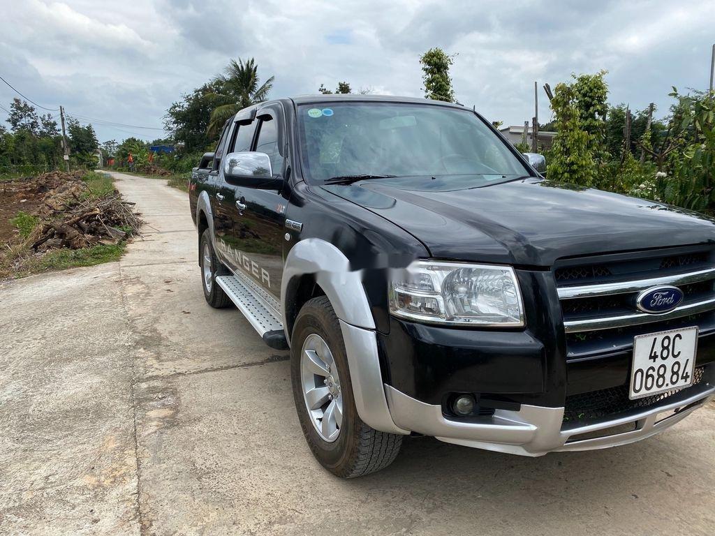 Cần bán gấp Ford Ranger năm 2008, màu đen  (1)