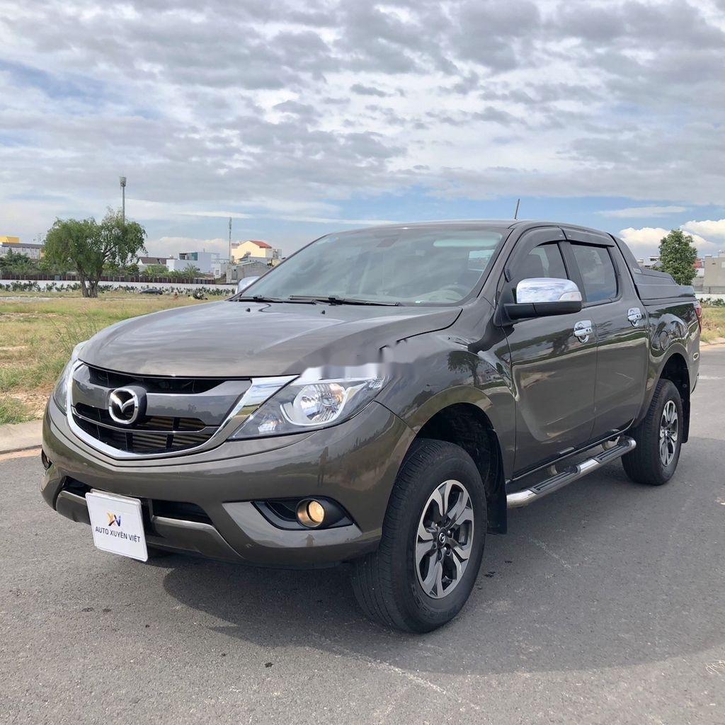 Bán xe Mazda BT 50 sản xuất năm 2018, màu nâu, xe nhập, 555tr (3)
