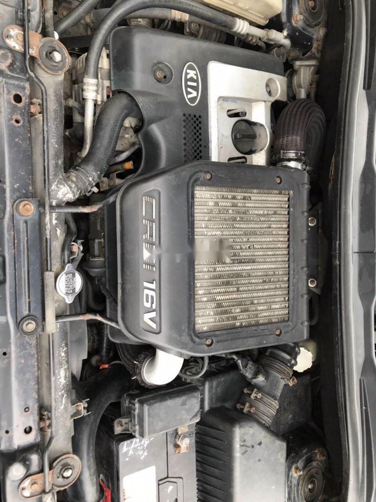 Cần bán xe Kia Carens đời 2008, màu đen, nhập khẩu  (11)