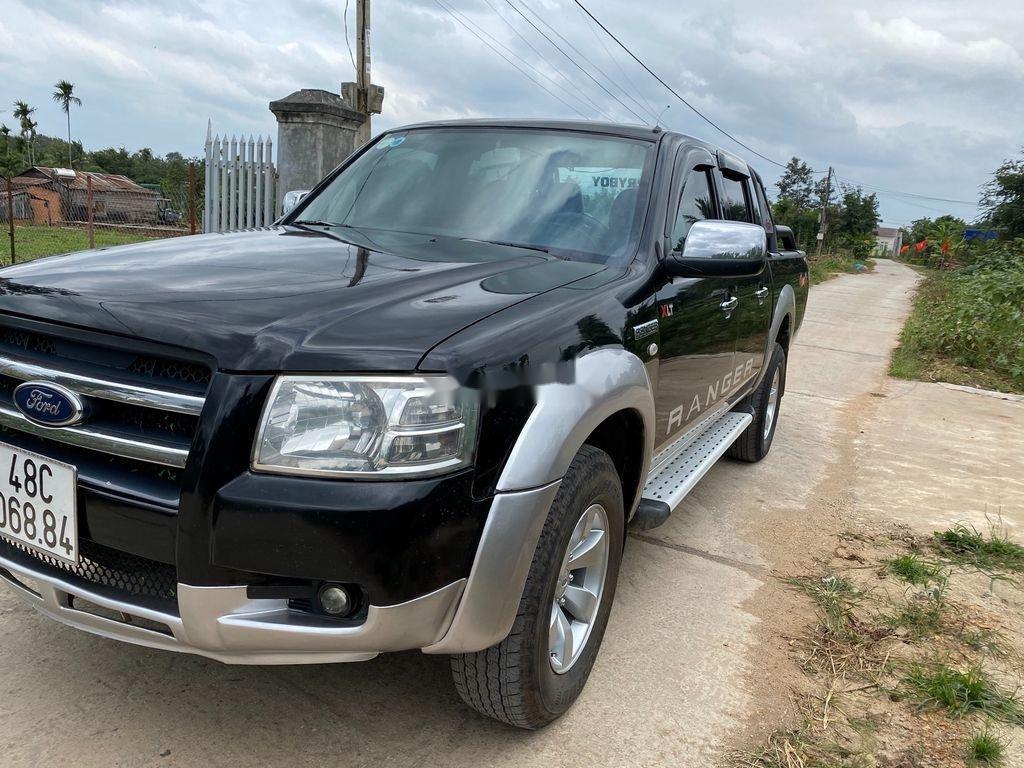 Cần bán gấp Ford Ranger năm 2008, màu đen  (2)