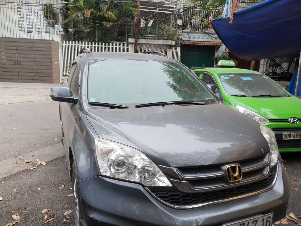 Cần bán xe Honda CR V 2010, màu xám còn mới (1)