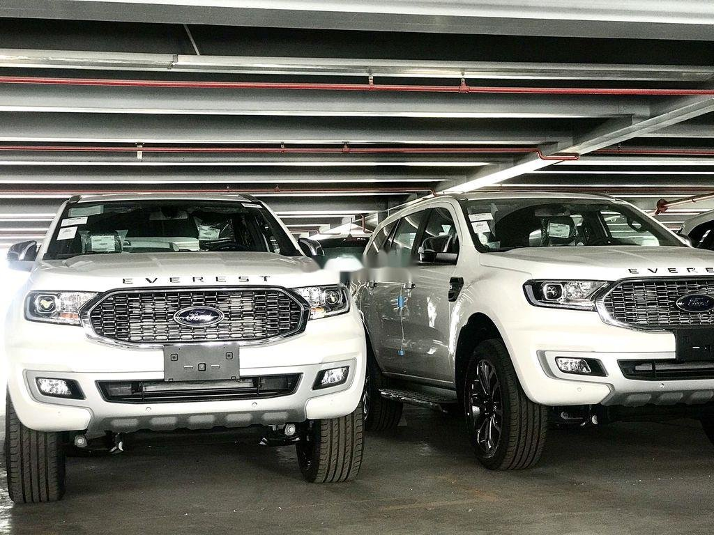 Bán xe Ford Everest đời 2021, màu trắng, xe nhập (2)