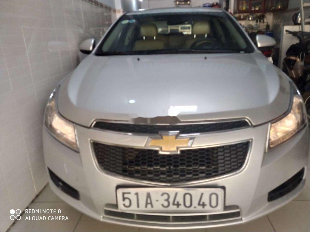 Bán ô tô Chevrolet Cruze đời 2012, màu bạc, xe gia đình  (4)