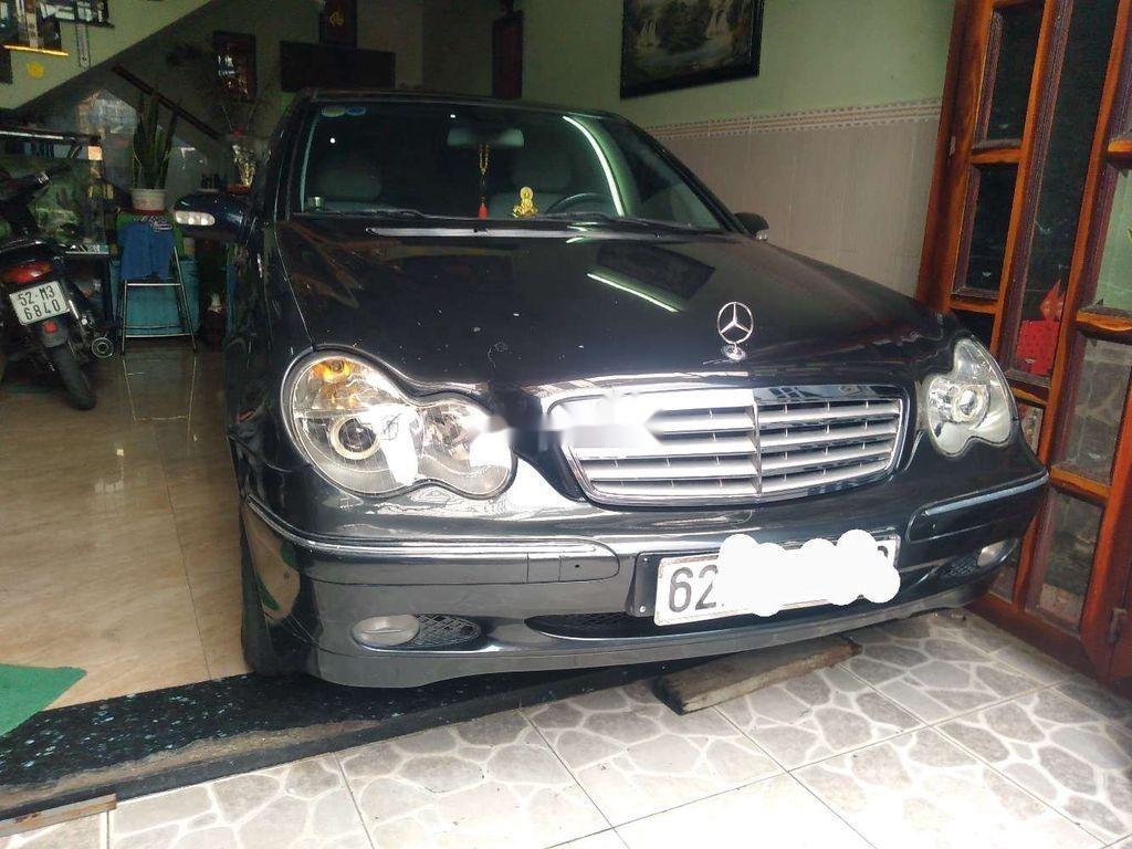 Bán Mercedes C class năm sản xuất 2002, nhập khẩu còn mới, 155tr (1)