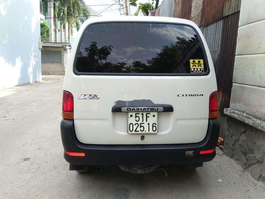 Cần bán lại xe Daihatsu Citivan sản xuất năm 2004, màu trắng (5)