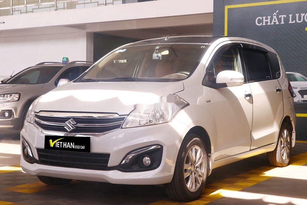 Cần bán gấp Suzuki Ertiga năm 2017, màu trắng, nhập khẩu, giá 426tr (2)