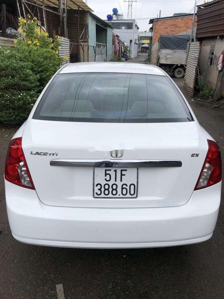 Bán xe Daewoo Lacetti đời 2004, màu trắng (6)