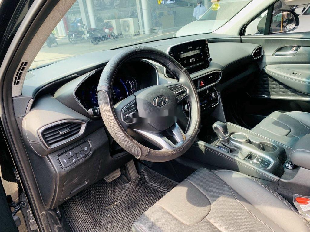 Cần bán lại xe Hyundai Santa Fe 2020, màu đen ít sử dụng (10)