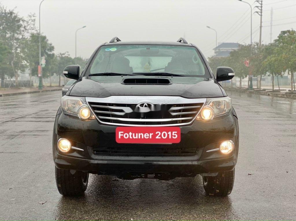 Cần bán lại xe Toyota Fortuner sản xuất 2015, giá mềm (1)