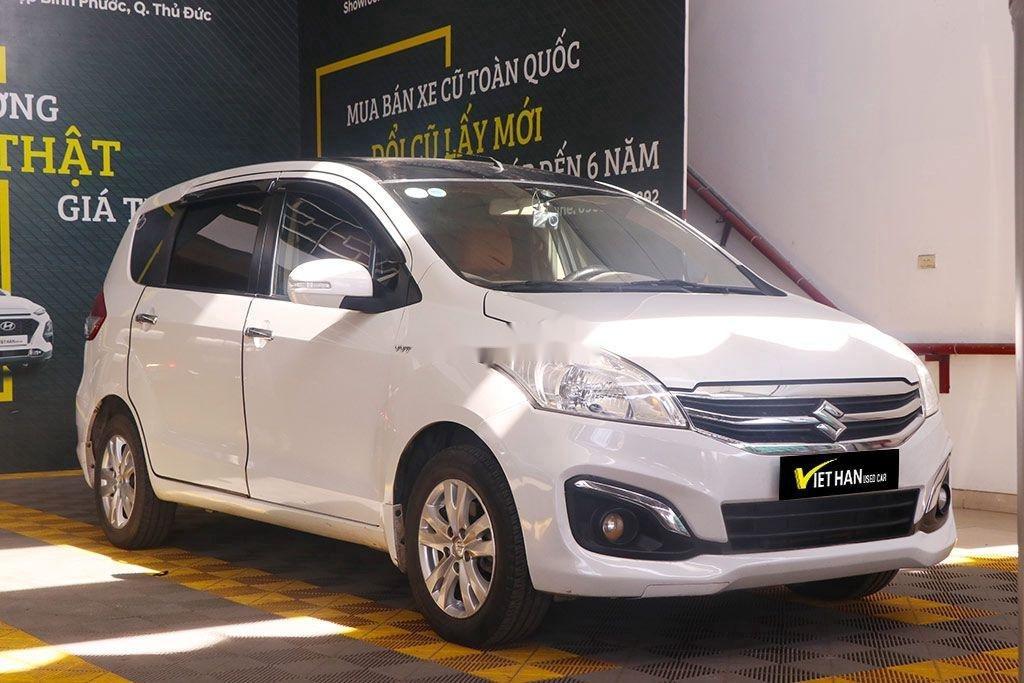 Cần bán gấp Suzuki Ertiga năm 2017, màu trắng, nhập khẩu, giá 426tr (1)
