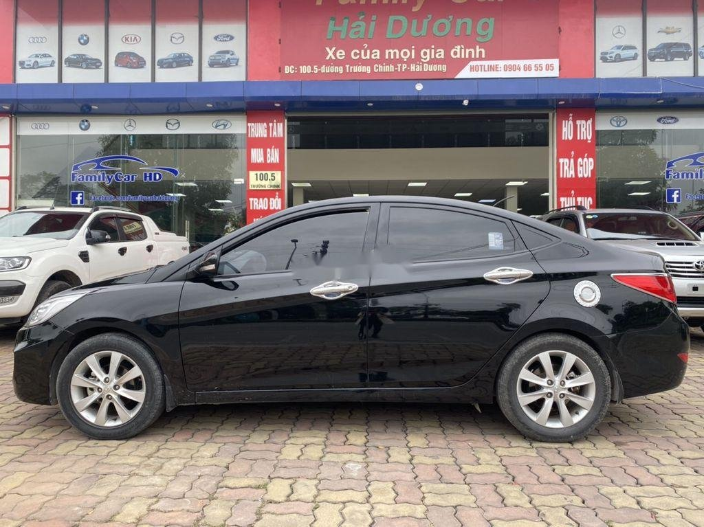 Bán Hyundai Accent đời 2016, màu đen, nhập khẩu  (6)