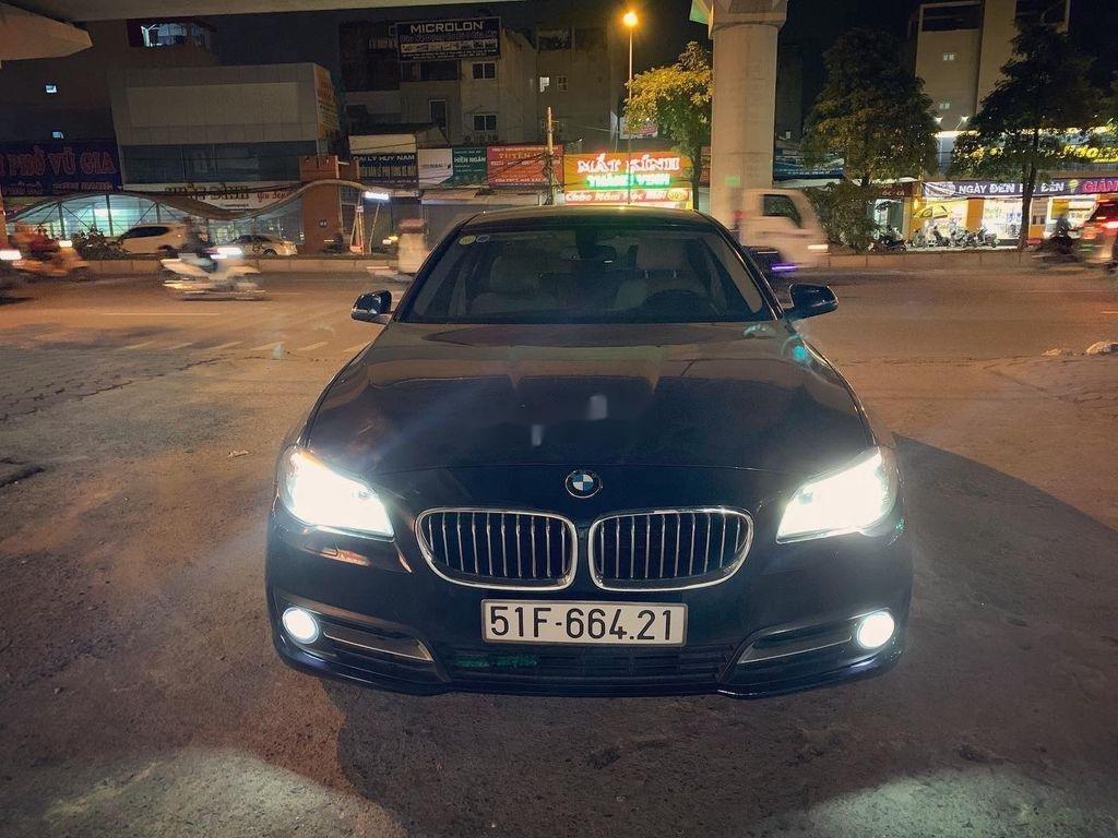 Bán ô tô BMW 5 Series 520i LCI năm sản xuất 2016, màu đen (1)