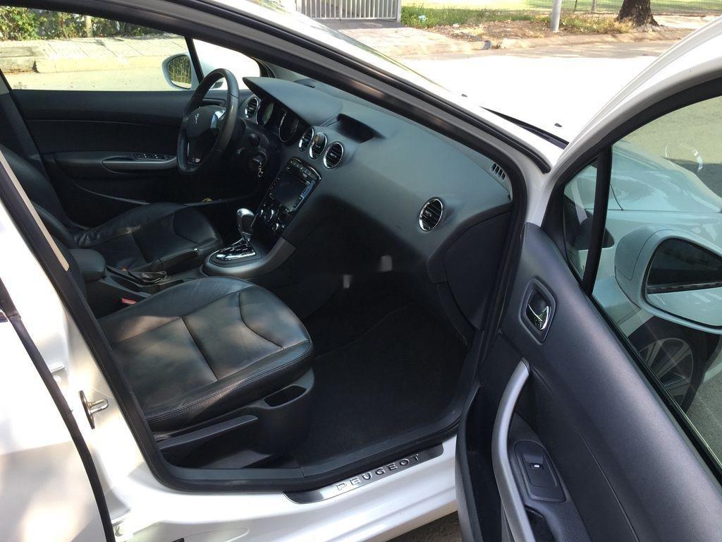 Cần bán lại xe Peugeot 408 sản xuất 2014, màu trắng ít sử dụng (9)