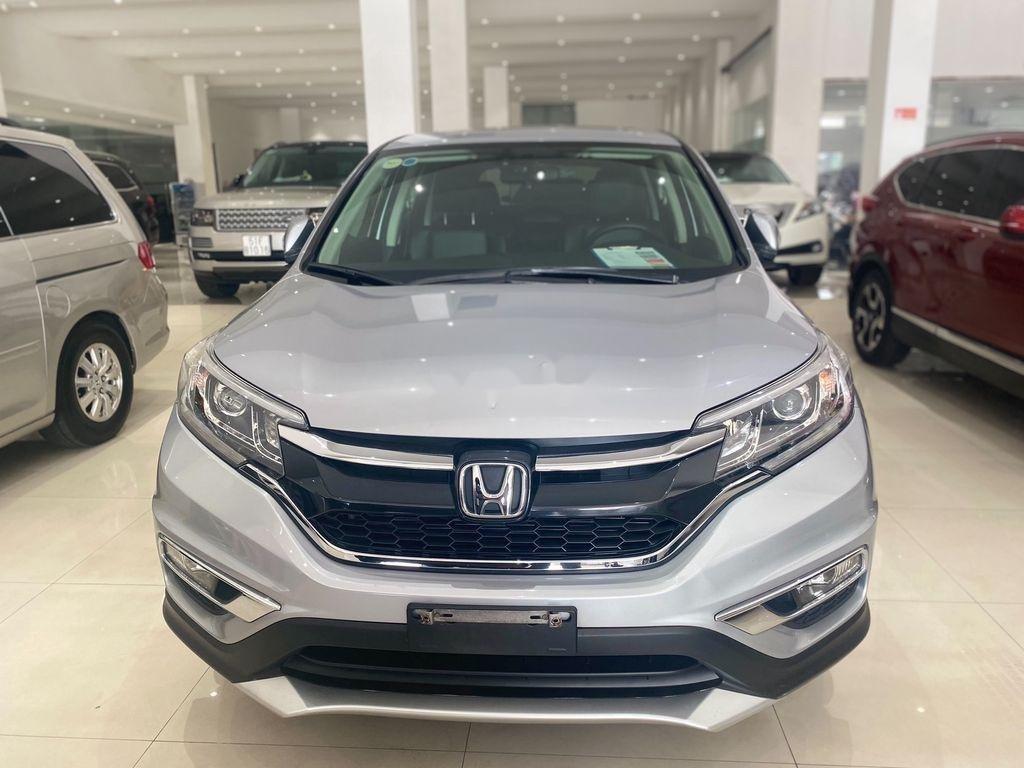 Bán Honda CR V 2017, màu bạc chính chủ, giá 790tr (1)
