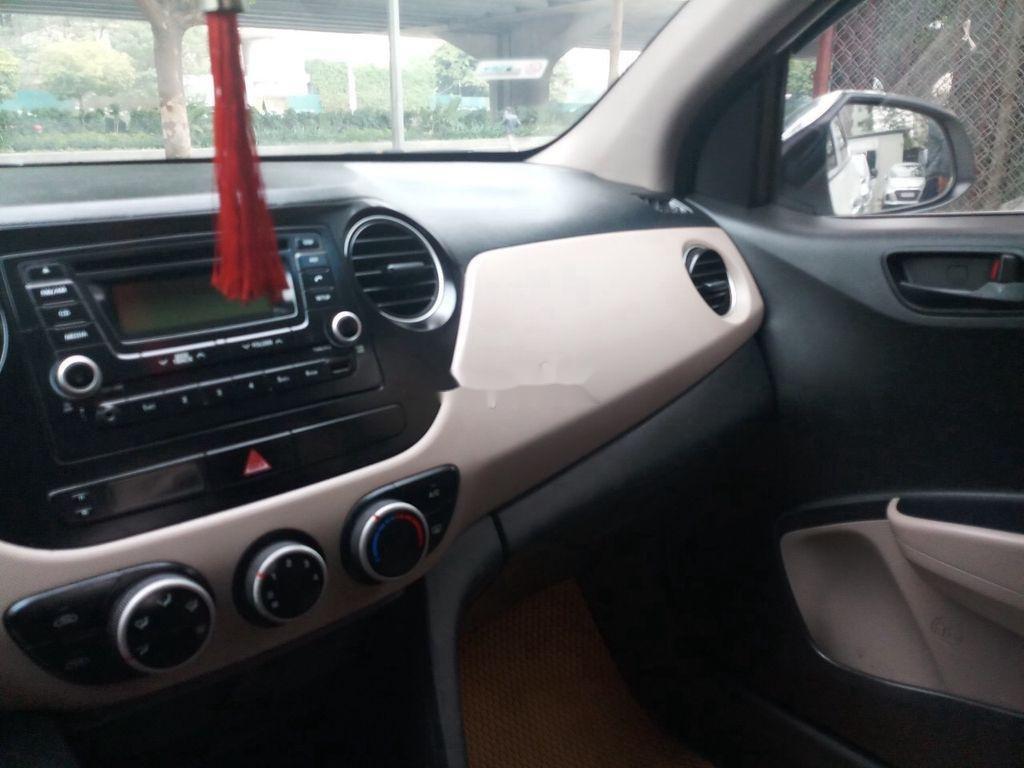 Bán Hyundai Grand i10 năm 2015, màu trắng, nhập khẩu nguyên chiếc (6)
