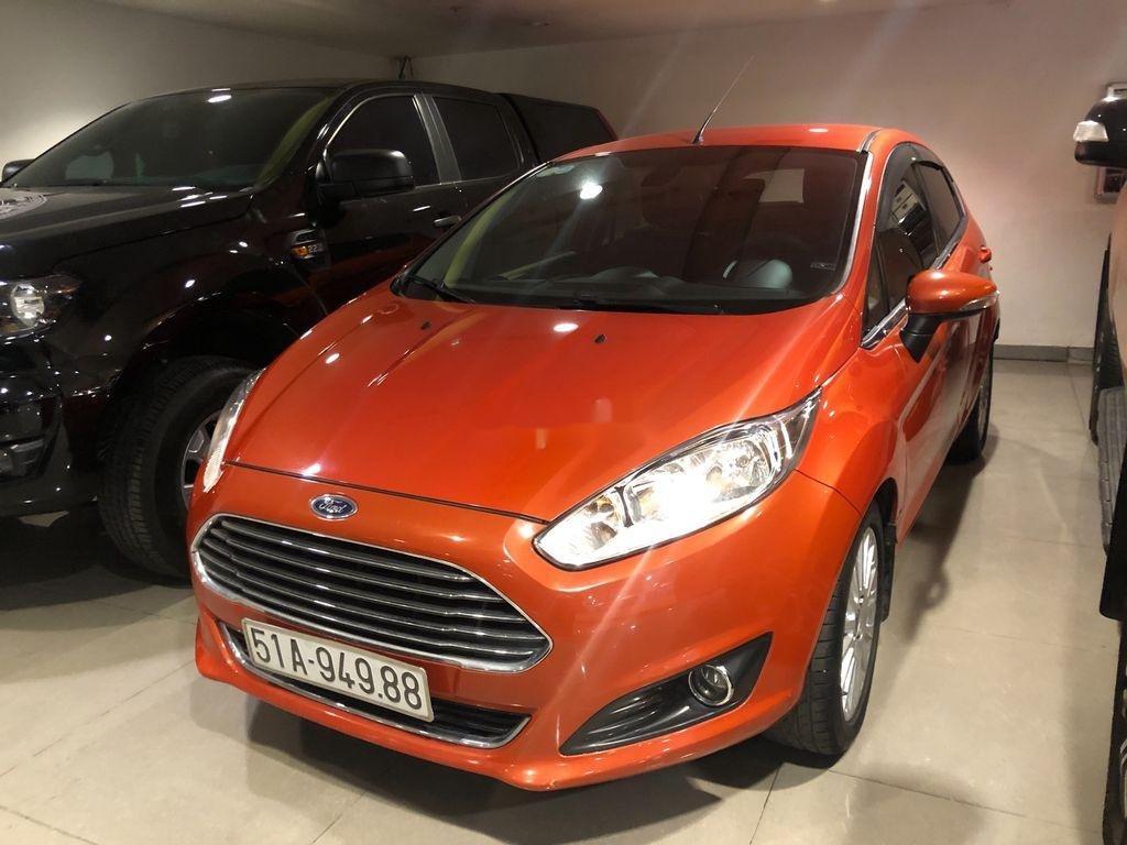 Bán ô tô Ford Fiesta đời 2014, xe nhập, màu cam (4)