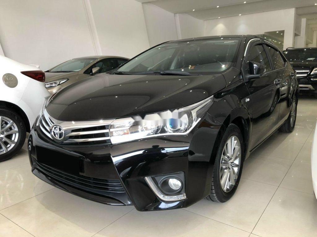 Cần bán xe Toyota Corolla Altis sản xuất 2017, màu đen (3)