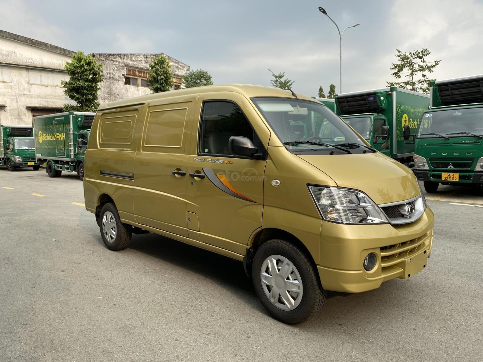 Thaco Towner Van 2S - 2 chỗ - 945kg chạy giờ cấm thành phố (6)