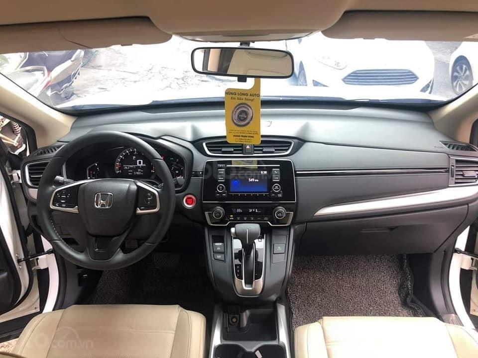 Bán Honda CR V sản xuất năm 2017, màu trắng (4)