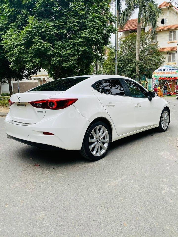 Bán Mazda 3 2.0 đời 2015, màu trắng (3)