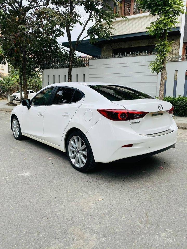 Bán Mazda 3 2.0 đời 2015, màu trắng (2)