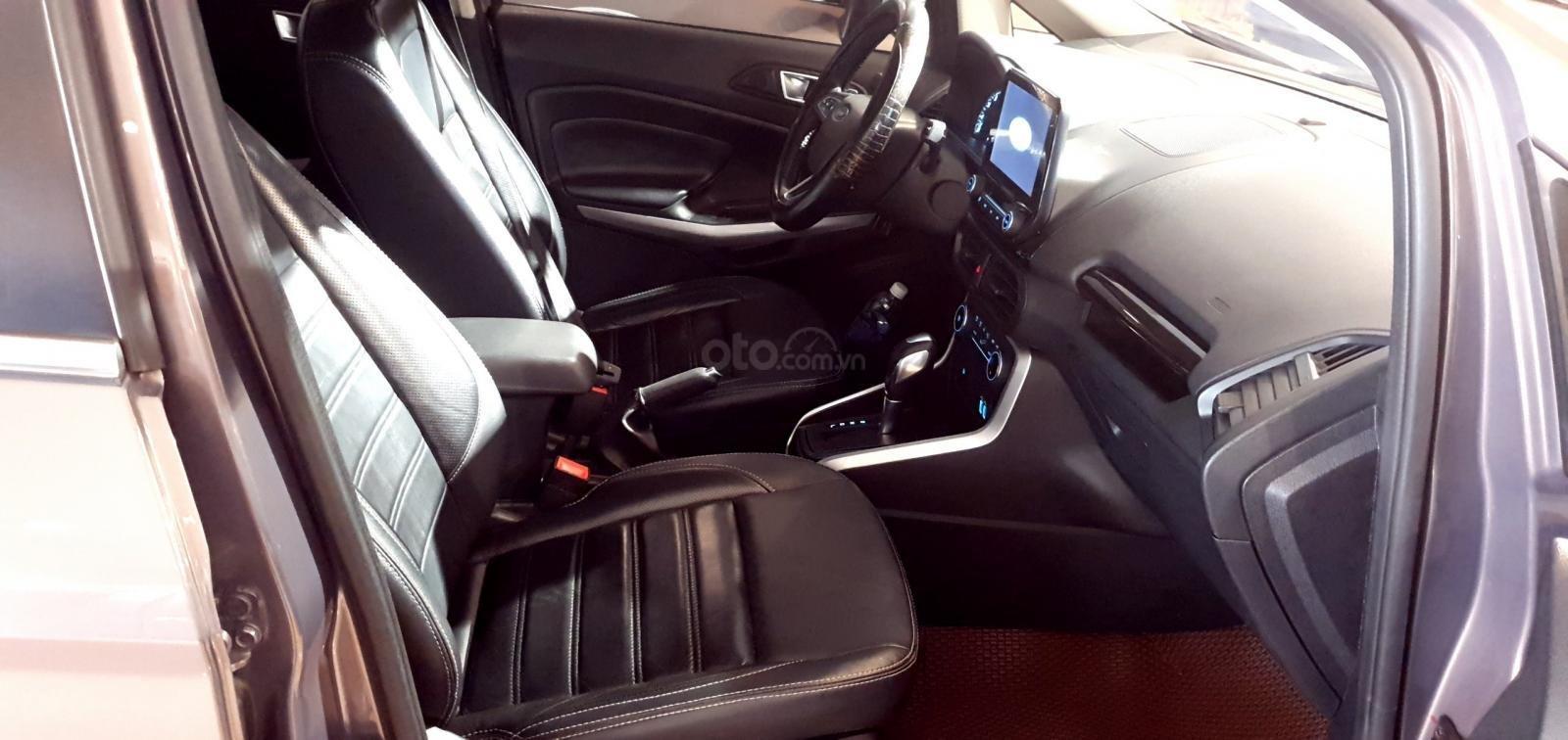 Ford Ecosport Titanium nâu 2018 xe đẹp cần tìm chủ (3)