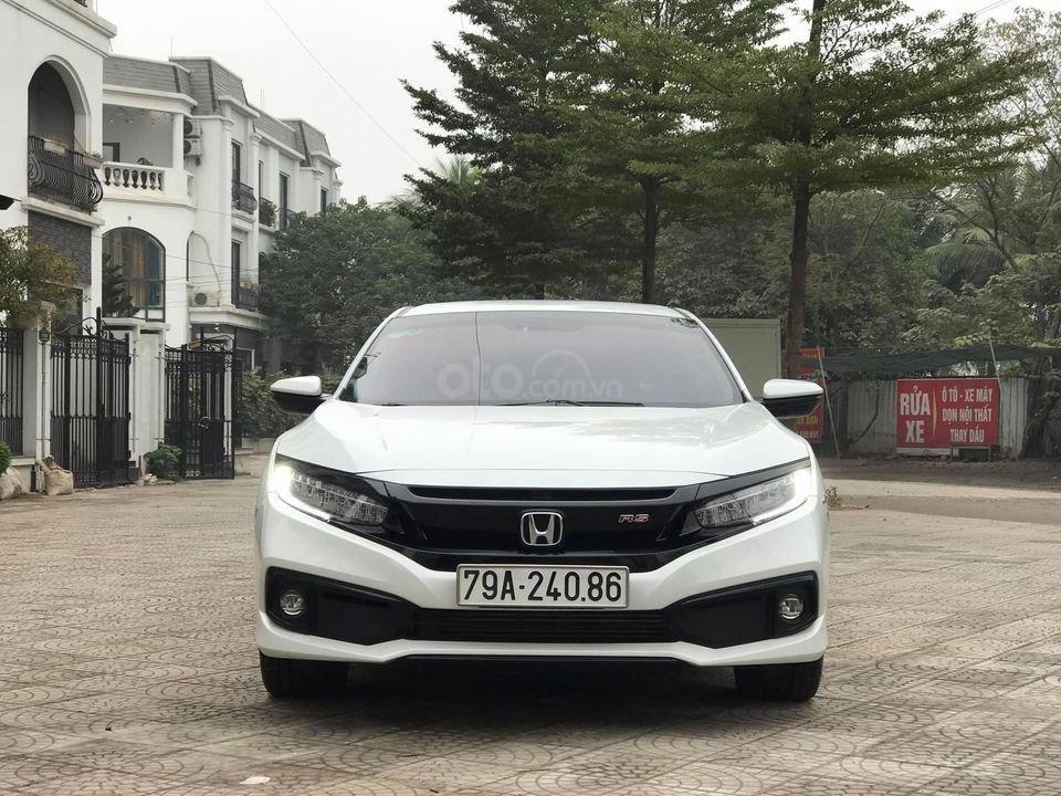 Bán ô tô Honda Civic RS sản xuất 2019, màu trắng (1)