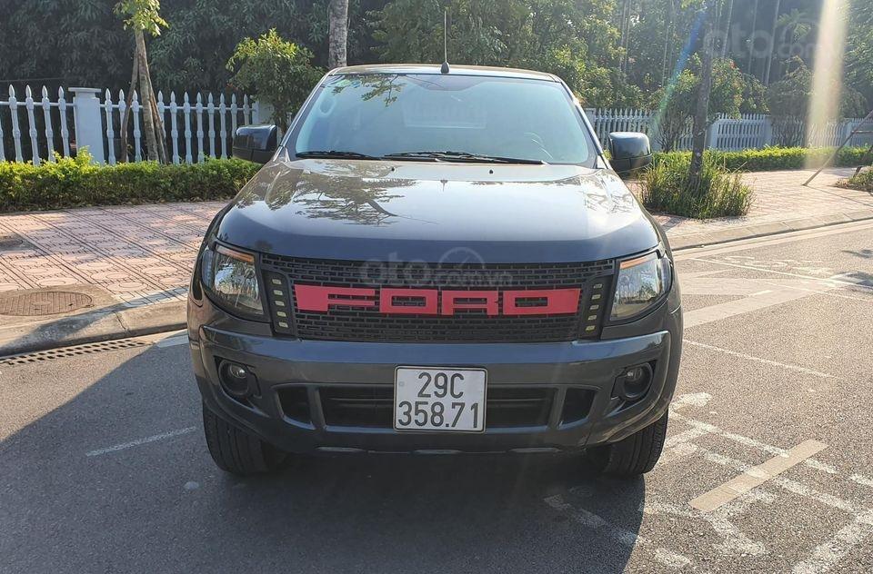 Bán Ford Ranger đời 2014, màu xanh đen, nhập khẩu (3)