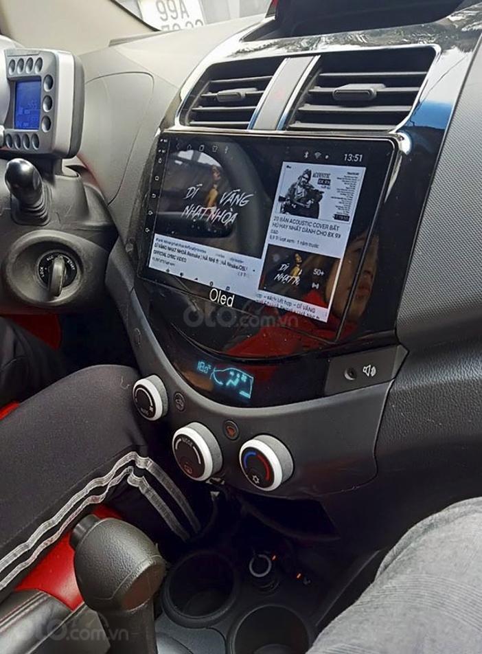 Cần bán gấp Daewoo Matiz sản xuất năm 2009, màu bạc, xe nhập (4)
